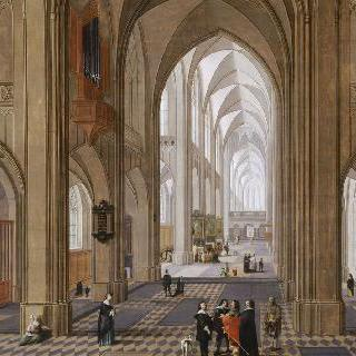 앙베르 대성당의 영감을 받은 성당 내부 전경