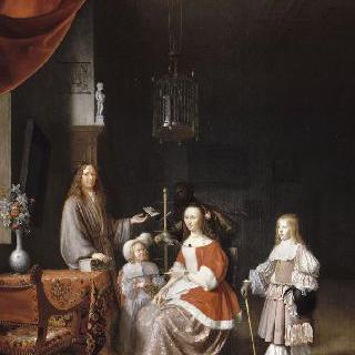 요하네스 미어만과 가족