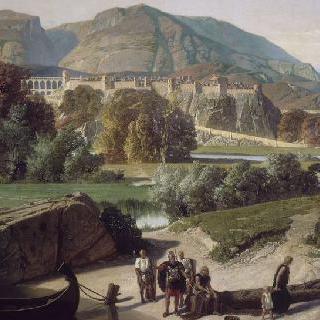 골족의 정복 후 몇 년 뒤 도피네 지방의 알프스 산맥 밑단에 자리잡은 로마 도시