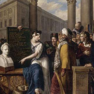 나폴레옹 1세의 영광의 우의화