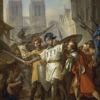 1436년 4월 13일 프랑스 군대의 파리 입성