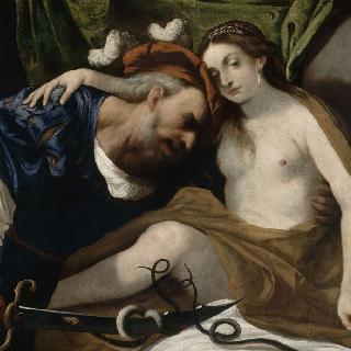 여인으로 변신한 예언가 티레시아스