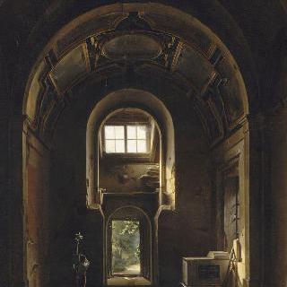 파리 생 필립 성당 예배당의 내부