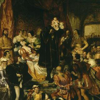 앙리 4세의 탄생 (1553년 12월 13일 포 성)