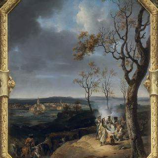 1807년 3월 오스트로드에서의 프랑스 군대의 야영
