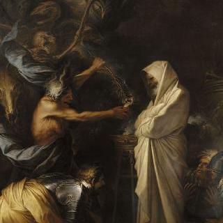 엔도르의 무녀 집에서 사울에게 나타난 사뮤엘의 환영