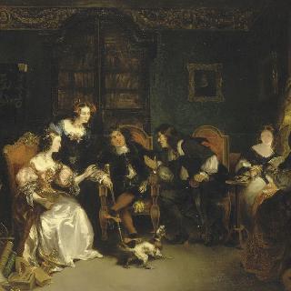 트리소탱과 바디우스의 다툼 (몰리에르의 유식한 여인들)