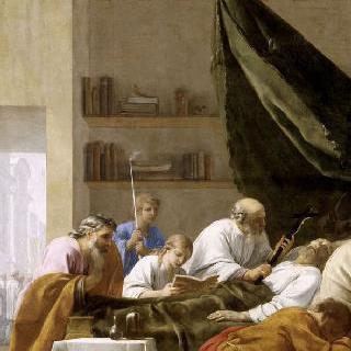 성 브루노의 삶 : 레이몽 디오크레스의 죽음