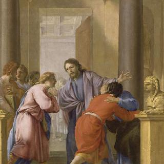성 브루노의 삶 : 제자와 친구들에게 속세를 떠나라고 충고하는 성 브루노