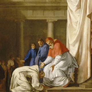 성 브루노의 삶 : 성 브루노의 로마 도착