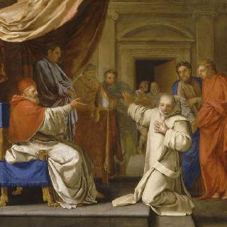 성 브루노의 삶 : 레지오 대주교의 교황직 요청을 거절한 성 브루노