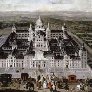 에스코리알 왕궁에서 바라본 전경
