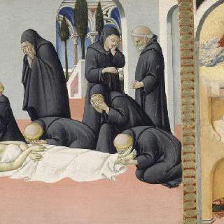 성 제롬의 죽음과 성 오귀스탱에게 나타난 성 제롬