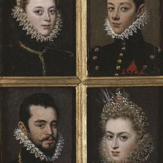 여인의 초상 ; 청년의 초상 ; 남자의 초상 ; 여자의 초상