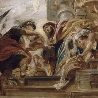 아브라함과 멜기세덱