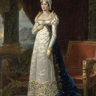레티시아 보나파르트의 초상, 마담 메르 (1756-1836)