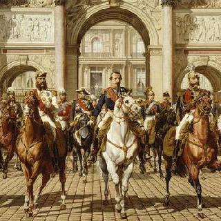 1867년 세계 박람회 참석을 위해 파리를 방문한 왕