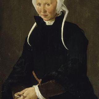 1558년 44살의 여인 초상