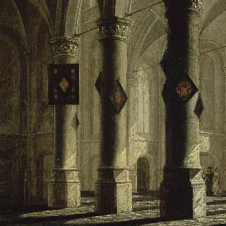 로테르담의 성 로렌 성당에서 영감을 받은 성당 내부