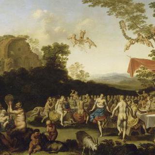 바커스와 아리안의 향연