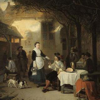 17세기 여인숙의 귀족