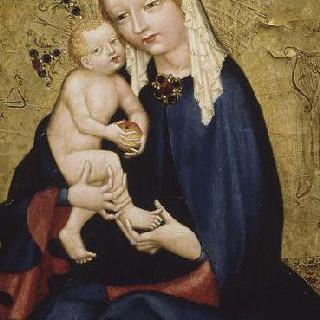 아기 예수를 안고 있는 성모