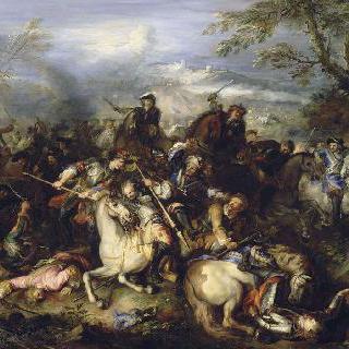 왕의 친위대가 참가한 전투