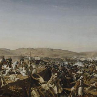 1843년 5월 16일 타귄에서의 오말 공작이 이끈 스말라 다브드 엘 카데르의 탈환