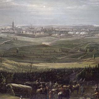 1745년 7월 17일부터 21일까지의 프랑스 군대의 오드나르드 점령