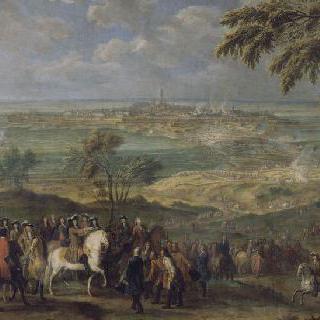 1691년 4월 9일 루이 14세의 몽 도시 탈환