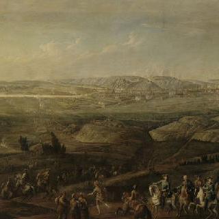 1746년 9월 프랑스 군대의 나뮈르 점령의 전경