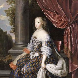 마리 테레즈 도트리슈, 스페인 공주, 프랑스 왕비