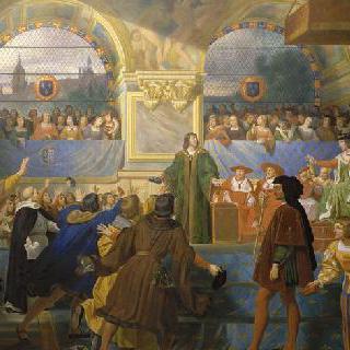 1506년 5월 14일 투르 삼부회에서 국민의 아버지임을 선언한 루이 12세