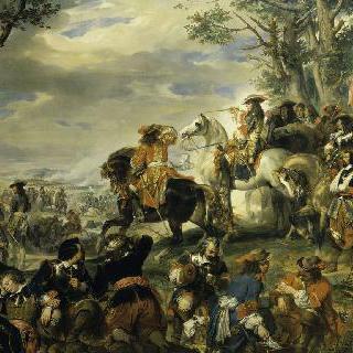 1693년 10월 4일 카티나 사령관이 승리를 거둔 마르세유 전투