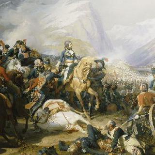 1797년 1월 14일 리볼리 전투의 보나파르트