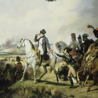 1809년 7월 6일 와그람 전투에서 나폴레옹 1세