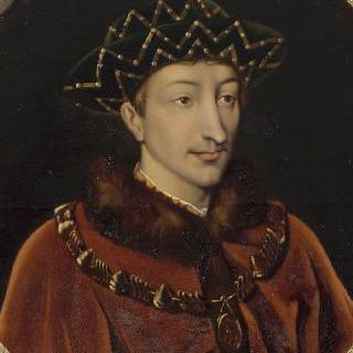 샤를 7세 프랑스 왕의 초상 (1403-1461)