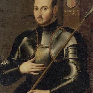 예수교 창시자 성 이나시오 로욜라의 초상 (1491-1556)