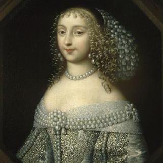 안마리 마티노치, 콩티 공주 (1637-1672)