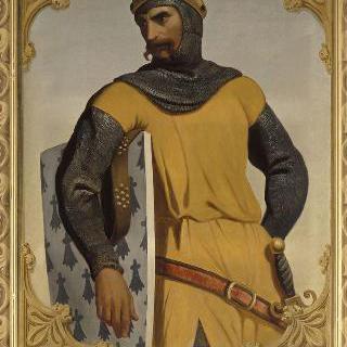 알랭 페르장, 브르타뉴 공작, 십자군 병사 (-1119)