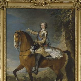 1723년 루이 15세의 기마초상 (1710-1774)