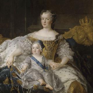 마리 레슈친스카 프랑스 왕비와 루이 왕태자 (1729-1765)