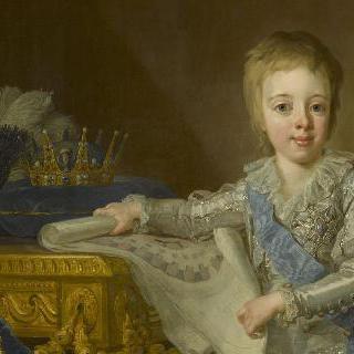 7세 때의 게스타브 4세 아돌프 (1778-1837), 스웨덴 왕