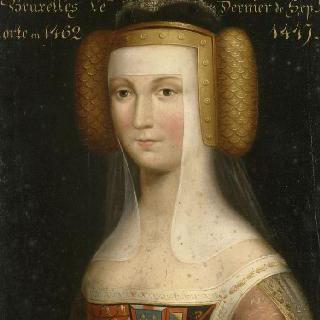 마리 드 부르고뉴, 샤르니 백작 부인