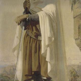 위그 드 페이앵, 성당 기사단의 제 1 기사장 (-1136)