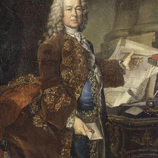 프로스페르 니콜라 바우인, 앙쥬빌리에르 영주 (1675-1740)