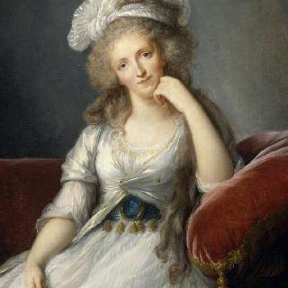 루이즈 마리 아델라이드 드 부르봉 팡티에브, 오를레앙 공작 부인 (1753-1821)