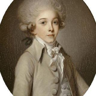 루이 앙투안 앙리 드 부르봉 콩데, 어린 시절의 앙기엔 공작 (1772-1804)