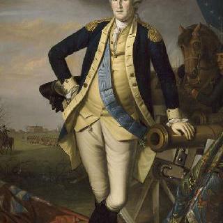 1777년 1월 3일 프린스톤 전투 후의 워싱톤 장군