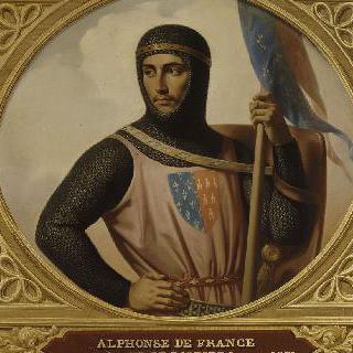 알퐁스 드 프랑스 (1220-1271), 푸아티에 백작, 툴루즈 백작